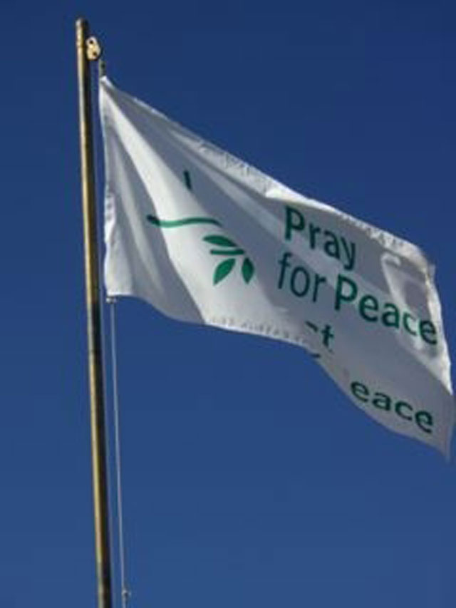 Pray for Peace, act for Peace
